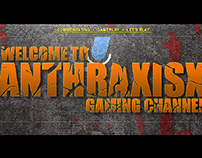 AnthraxisX Gaming YouTube Channel Art