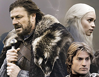 Game of Thrones promotional poster