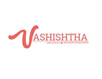 Vashishtha law Logo design Concept