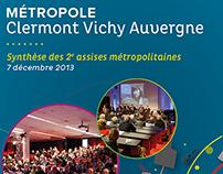 Métropole Clermont Vichy Auvergne - Synthèse assises