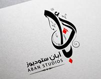 My New Brand Aban Studios ,Arabic Typography