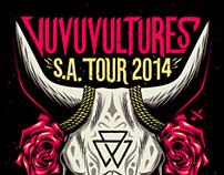 Vuvuvultures S.A. Tour 2014