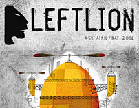 Leftlion Magazine - Editorial Illustration