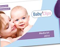 Media kit Baby'Clips