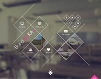 BrandaLoka - Creative Onepage PSD Template