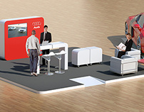 Audi // exhibition stand //