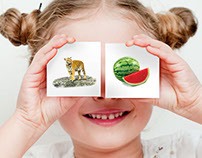 Kids Flash Cards Promotional Emailer