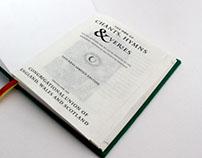 Football Chant Hymn Book