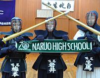 Towel design for Naruo Senior High School