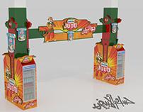 Juhayna Judo ( Gondola,Stand,Pillar,Gate and Floor )