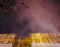 Night walk II (Purple sky)