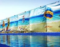 Aqua Park Fence cover