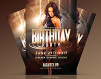 Birthday Party - Flyers