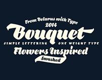 Bouquet. Font
