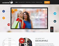 Socialwhale.nl - Single page website