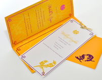 Michelle & Eugene Invitations
