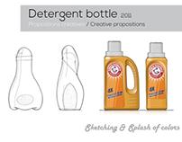 Detergent & Bottle Packaging