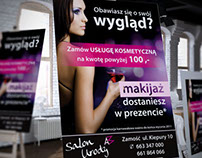 Poster / A3 / Salon Urody