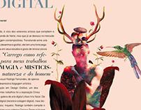 Série Arte Digital - ÉS A MINHA LUZ
