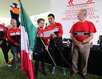 Abanderamiento de la Delegación Deportiva y Foto Grupal