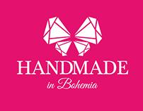 HANDMADE in Bohemia logo design