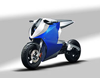 Concept scooter NAJA