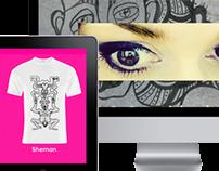 Branding, web , webshop
