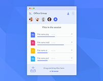 Daily UI #031 - File upload - free Sketch source