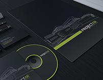 Projectar // rebranding //