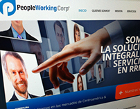 People Working Corp / Website