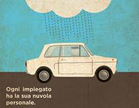 Italian Film Illustration