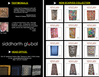 Siddharth Global : New Scarves Collection