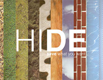 HIDE, save what you want.