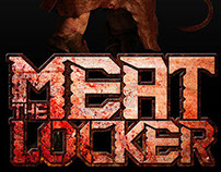 The Meat Locker Logo & Character Art