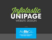 Infotastic Unipage Website