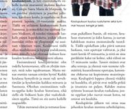Magazine Design - Savikosken Kuohuja