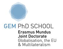 GEM PhD School - ULB Bruxelles