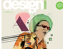 Design Week, Don Letts front cover illustration