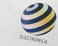 Electronica Branding business card