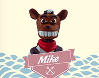 Mike - Character Design Project