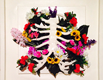 Floral Ribcage & Arm
