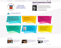 TTVAM | Higher education college webdesign