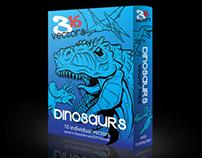 316 Vectors Dinosaur pack