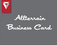 Allterrain Business Card
