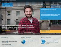 Columbia University Donor Campaign Site