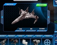 Spaceship Battle UX case study