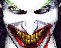 Joker Biro/Colour Drawing