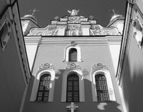Kiev in black and white