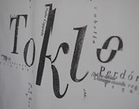 Afiche Tipografico - Perdidos en Tokio / Sofia Coppola