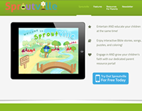 Sproutville Site - A Children's Learning App
